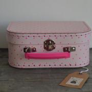 koffertje roze